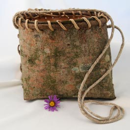 White Pine Berry Picking Basket - 5 1/2 x 7 x 5 $50
